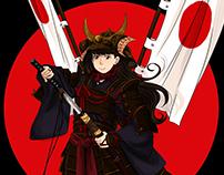 Nana samurai