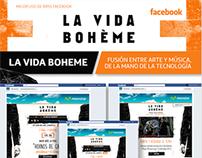APP en Facebook - La Vida Bohème