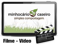 Vídeo para o Minhocário Caseiro - Simples Compostagem