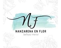 Identidad visual - Nanzarena en Flor | Lencería