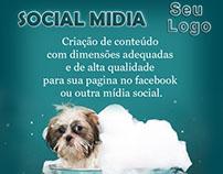 Midia Social   para o facebook