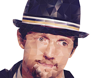 Jason Mraz (Low Poly)