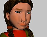 :: Modelado 3D Mujeres Indígenas ::