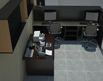 Renders Oficina