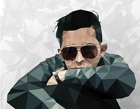 Profile Low Poly art