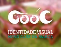 Identidade visual case Gooc - Rebrand