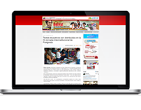 Portal web de la Fundación Cenamec.
