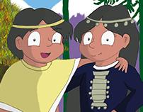 Peñis Machi Libro ilustrado sobre tradiciones Mapuche