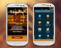 La frase de hoy | App mobile