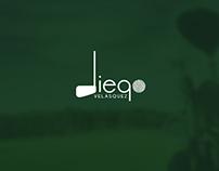 Diego Velásquez Golfer Brand Design