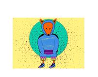 Ilustraciones y diseños para Marcas textiles.