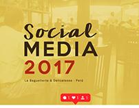 La Baguetteria - Social Media 2017