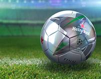 Heineken soccer balls