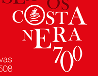 Seamos Costanera 700 - Typography poster