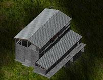 Visualización Arquitectónica Proyecto Sabanilla(2012)