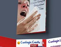 """Brochure TERAGRIP """"Contagia Bienestar"""""""