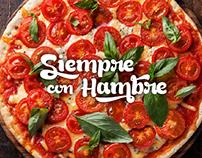 SIEMPRE CON HAMBRE - Branding & Ilustration