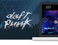 Daft Punk - Proyecto Interno