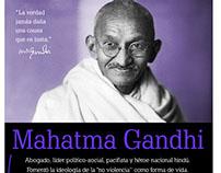 Infografía Gandhi