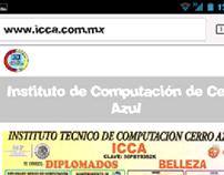 Pagina web para el Instituto De Computación De Cerro Az