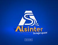 Creación de web site Alsinter