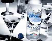 Piezas para redes sociales para Grey Goose
