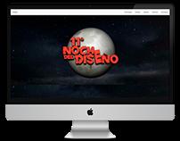 Sitio Web La Noche del Diseño // Santo Tomás