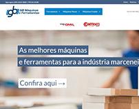 Site GB Máquinas e Ferramentas (www.gbmaquinas.ind.br)