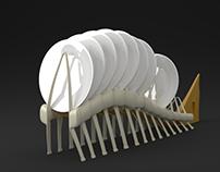 Modelagem 3D | Escorredor Peixe-Borboleta