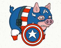 Avengers Pigs