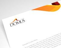 Diseño Papelería Grupo Domus