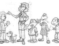 Creación y desarrollo de personajes.