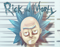 Rick Fan art