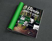 Anúncio da Malinovski para revista impressa