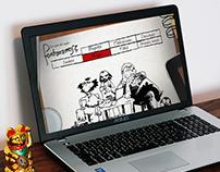 Web - Fontanarrosa's web redesign proyect