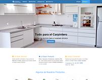 Sitio Web Responsive, Perfiles de Aluminio