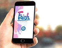 Diseños para redes sociales Faith clothing