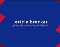 Letícia Brocker - Portfólio