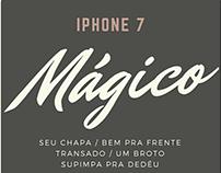 Anúncio retrô iPhone 7 (acadêmico)