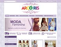 Personalização Loja Arco Iris Boutique