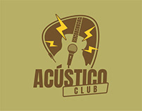 Logo Design - Acústico Club