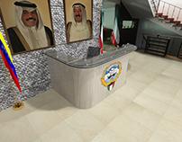Mobiliario de oficina diplomatica