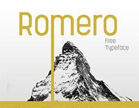 Romero Regular - Free typeface
