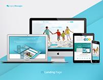 Legacy Messages UX/UI Web App