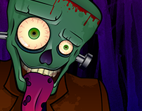Ilustración - Frankenstein