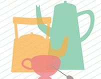 Ilustrações Cozinha