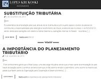 Textos site http://lkadvs.com/