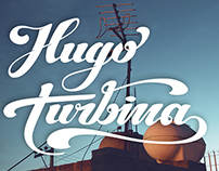 HUGOturbina // lettering - MX