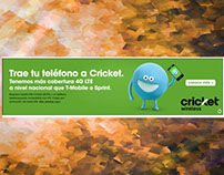 Cricket Wireless – Yahoo Español – Homepage Billboard