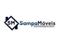 Logo Sampa Móveis